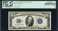 Small Size:Silver Certificates, Fr. 1705* $10 1934D Silver Certificate. PCGS Gem New 65PPQ.. ...