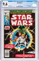 Star Wars #1 (Marvel, 1977) CGC NM+ 9.6 White pages