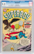 Silver Age (1956-1969):Superhero, Superboy #69 (DC, 1958) CGC NM- 9.2 Off-white pages....