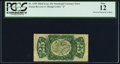 Fractional Currency:Third Issue, Fr. 1295 25¢ Third Issue Inverted Surcharge PCGS Fine 12.. ...