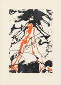 Prints & Multiples, Claes Oldenburg (b. 1929). Striding Figure, from Conspiracy: The Artist as Witness portfolio, 1971. Screenprint in c...