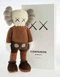 General Americana, KAWS (b. 1974). Companion, 2015. Polyester plush. 16-1/2 x8-1/2 x 4 inches (41.9 x 21.6 x 10.2 cm). Edition of 1000. In...