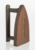 Collectible, Man Ray (1890-1976). Cadeau, 1974. Cast metal. 6-1/2 x 4 x 3-1/4 inches (16.5 x 10.2 x 8.3 cm). Ed. 4213/5000. Signed, n...