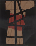 Prints & Multiples, Louise Nevelson (1899-1988). Thru a-z +, n.d.. Lithograph in colors on paper. 26 x 20 inches (66.0 x 50.8 cm) (sheet). E...