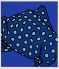Fine Art - Work on Paper:Print, Patrick Caulfield (1936-2005). She'll have forgotten her scarf, from Some Poems of Jules Laforgue, 1973. Screenprint...