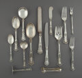Silver Flatware, American:Gorham, A Forty-Three Piece Gorham Buttercup Pattern Silver FlatwareService, Providence, Rhode Island, designed 1900. M... (Total: 43Items)