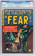 Golden Age (1938-1955):Horror, Haunt of Fear #15 (#1) (EC, 1950) CGC FN+ 6.5 Cream to off-white pages....