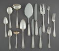 Silver & Vertu:Flatware, An Eighty-Three Piece Gorham Etruscan Pattern Silver Flatware Service, Providence, Rhode Island, designed 1913. ... (Total: 83 Items)