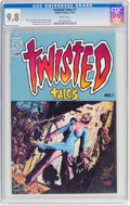 Modern Age (1980-Present):Horror, Twisted Tales #1 (Pacific Comics, 1982) CGC NM/MT 9.8 White pages....
