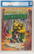 Golden Age (1938-1955):Horror, Adventures Into The Unknown #24 (ACG, 1951) CGC FN/VF 7.0 Cream tooff-white pages....