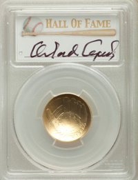 2014-W $5 Baseball Hall of Fame Five Dollar, Orlando Cepeda Signature, MS70 PCGS. PCGS Population: (15). NGC Census: (0)...
