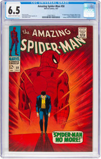 The Amazing Spider-Man #50 (Marvel, 1967) CGC FN+ 6.5 Cream to off-white pages