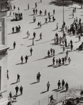 Photographs, André Kertész (Hungarian, 1894-1985). Birds Eye View, Washington Square Park, 1969. Gelatin silver. 9-5/8 x 7-3/4 inches...