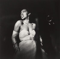 Eve Arnold (American, 1913-2012) Josephine Baker Returns to the US After 25 Year Absence, New York City