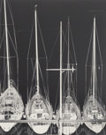 Photographs, Robert Mapplethorpe (American, 1946-1989). Sailboats, 1983. Gelatin silver. 19-1/8 x 15-1/4 inches (48.6 x 38.7 cm). Sig...