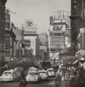 Photographs, Andreas Feininger (French/American, 1906-1999). View of Broadway, Looking North from 45th Street in Daytime, NYC, 1954. ...