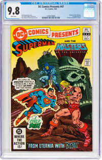 DC Comics Presents #47 Superman and the Masters of the Universe (DC, 1982) CGC NM/MT 9.8 White pages