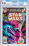 Modern Age (1980-Present):Science Fiction, Star Wars #54 (Marvel, 1981) CGC NM+ 9.6 White pages....