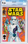 Modern Age (1980-Present):Science Fiction, Star Wars #97 (Marvel, 1985) CGC NM+ 9.6 White pages....