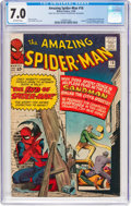 Silver Age (1956-1969):Superhero, The Amazing Spider-Man #18 (Marvel, 1964) CGC FN/VF 7.0 Off-whitepages....