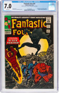 Silver Age (1956-1969):Superhero, Fantastic Four #52 (Marvel, 1966) CGC FN/VF 7.0 White pages....