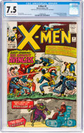 Silver Age (1956-1969):Superhero, X-Men #9 (Marvel, 1965) CGC VF- 7.5 Off-white to white pages....