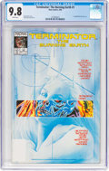 Modern Age (1980-Present):Science Fiction, Terminator: The Burning Earth #1 (Now Comics, 1990) CGC NM/MT 9.8 White pages....