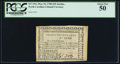 Colonial Notes:North Carolina, North Carolina May 10, 1780 $25 Justitia Addit Fiduciam PCGS About New 50.. ...