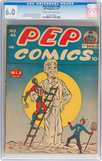Pep Comics #46 (MLJ, 1944) CGC FN 6.0 Cream to off-white pages