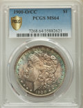Morgan Dollars: , 1900-O/CC $1 MS64 PCGS Secure. PCGS Population: (2132/1012 and 99/60+). NGC Census: (787/195 and 27/7+). CDN: $850 Whsle. B...