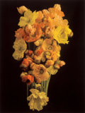 Photographs, Jonathan M. Singer (American, b. 1949). Floral bouquet of orange and yellow flowers, 2008. Digital pigment print on hand...