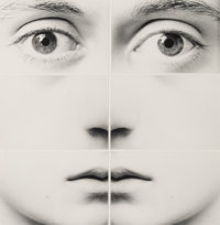 Tetsu Okuhara (American/Japanese, b. 1942) Six Part Face, 2002 Gelatin silver 9 x 8-3/4 inches (2