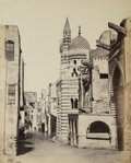 Photographs:Albumen, Francis Frith (British, 1822-1898). Street View in Cairofrom the album Egypt, Sinai, and Jerusalem: A Series ofTwent...