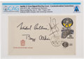 Explorers:Space Exploration, Apollo 11: Neil Armstrong Signed Czechoslovakian Moon Landing Cover Directly From The Armstrong Family Collection™, Certified ...