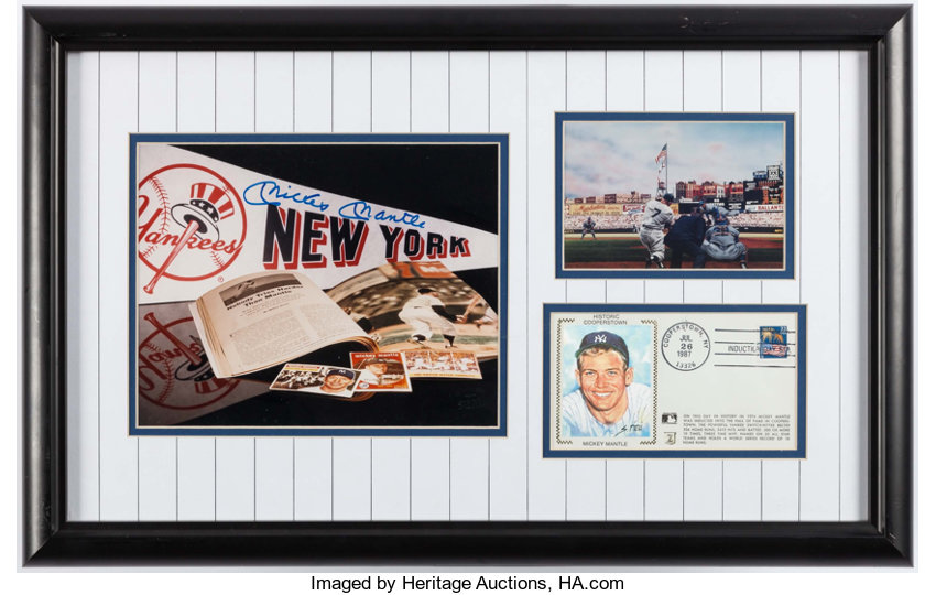 186709f95ae Mickey Mantle Signed