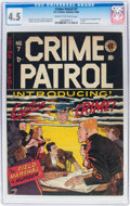 Golden Age (1938-1955):Crime, Crime Patrol #7 (EC, 1948) CGC VG+ 4.5 Cream to off-white pages....