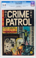 Golden Age (1938-1955):Crime, Crime Patrol #15 (EC, 1950) CGC VG/FN 5.0 Cream to off-white pages....