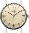 Timepieces:Wristwatch, Movado Sub-Sea, Stainless Steel, 34mm, Ref. 533, Circa 1962. ...