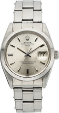 Timepieces:Wristwatch, Rolex Oyster Perpetual Date, Ref 1500, Circa 1967. ...
