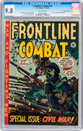 Golden Age (1938-1955):War, Frontline Combat #9 Gaines File pedigree 2/10 (EC, 1952) CGC NM/MT 9.8 Off-white pages....
