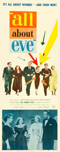 "Movie Posters:Academy Award Winners, All About Eve (20th Century Fox, 1950). Insert (14"" X 36"").. ..."