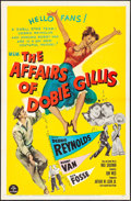 """Movie Posters:Comedy, The Affairs of Dobie Gillis (MGM, 1953). Folded, Very Fine. One Sheet (27"""" X 41""""). Comedy.. ..."""