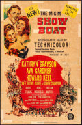 """Movie Posters:Musical, Show Boat & Other Lot (MGM, 1951). Trimmed One Sheet (26.75"""" X 41"""") & One Sheet (27"""" X 41""""). Musical.. ... (Total: 2 Items)"""