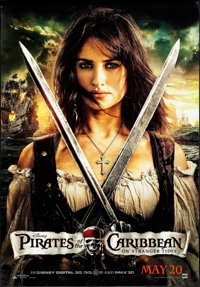 """Pirates of the Caribbean: On Stranger Tides (Walt Disney Pictures, 2011). Bus Shelters (2) (47.5"""" X 68"""" &..."""