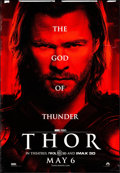 """Movie Posters:Action, Thor (Paramount, 2011). Bus Shelter (47"""" X 68.5"""") DS Advance. Action.. ..."""