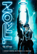 """Movie Posters:Action, Tron: Legacy (Walt Disney Pictures, 2010). Bus Shelter (47"""" X 68"""") Advance. Action.. ..."""