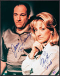 "Movie Posters:Crime, The Sopranos (HBO Films, 2007). Autographed Photo (16""X 20"").Crime.. ..."