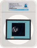 Explorers:Space Exploration, Apollo 11 Original NASA Glass Slide, the LM and S-IVB during Transposition, Directly From The Armstrong Family Collection™...