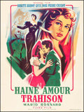 """Movie Posters:Foreign, Concert of Intrigue (Mondial, 1954). French Grande (47"""" X 63""""). Foreign.. ..."""