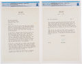 Explorers:Space Exploration, [Apollo 1] Ed White Memorial Fund Astrodome Benefit: Bob Hope Typed Letter Signed to Armstrong Regarding this Show, Dated Apri...